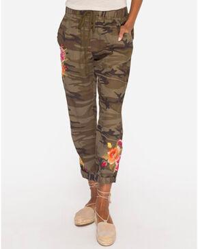 Johnny Was Women's Camo Vella Jogger Pants , Camouflage, hi-res