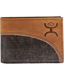 Hooey Men's Brown Signature Bi-Fold Wallet , , hi-res
