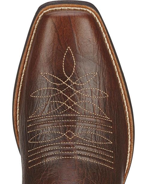 Ariat Women's Round Up Square Toe II Western Boots, Acorn, hi-res