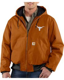 Carhartt University of Texas Longhorns Sandstone Active Jacket, , hi-res
