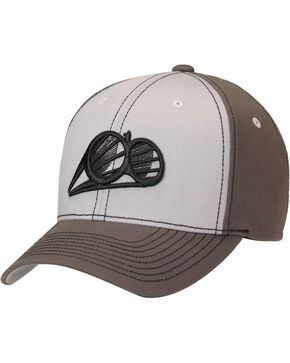 Double Barrel Logo Cap, Grey, hi-res