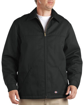 Dickies Insulated Twill Jacket - Big & Tall, Black, hi-res