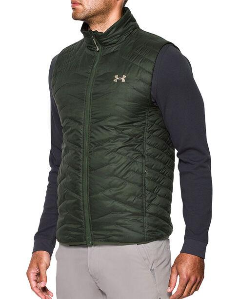 Under Armour Men's ColdGear Reactor Vest, Green, hi-res