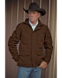 STS Ranchwear Men's Brazos Brown Jacket, , hi-res