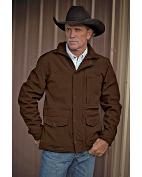 STS Ranchwear Men's Brazos Brown Jacket, Brown, hi-res