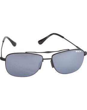 BEX Men's Draeklyn Lightweight Polarized Sunglasses, Black, hi-res