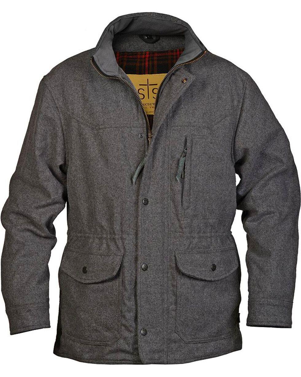 STS Ranchwear Men's Smitty Grey Barn Jacket, , hi-res