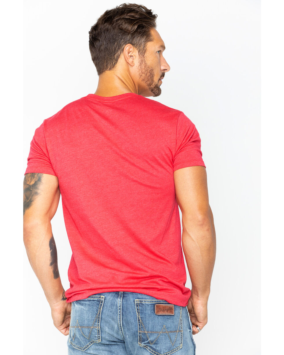 Cody James Men's American Original T-Shirt, Red, hi-res