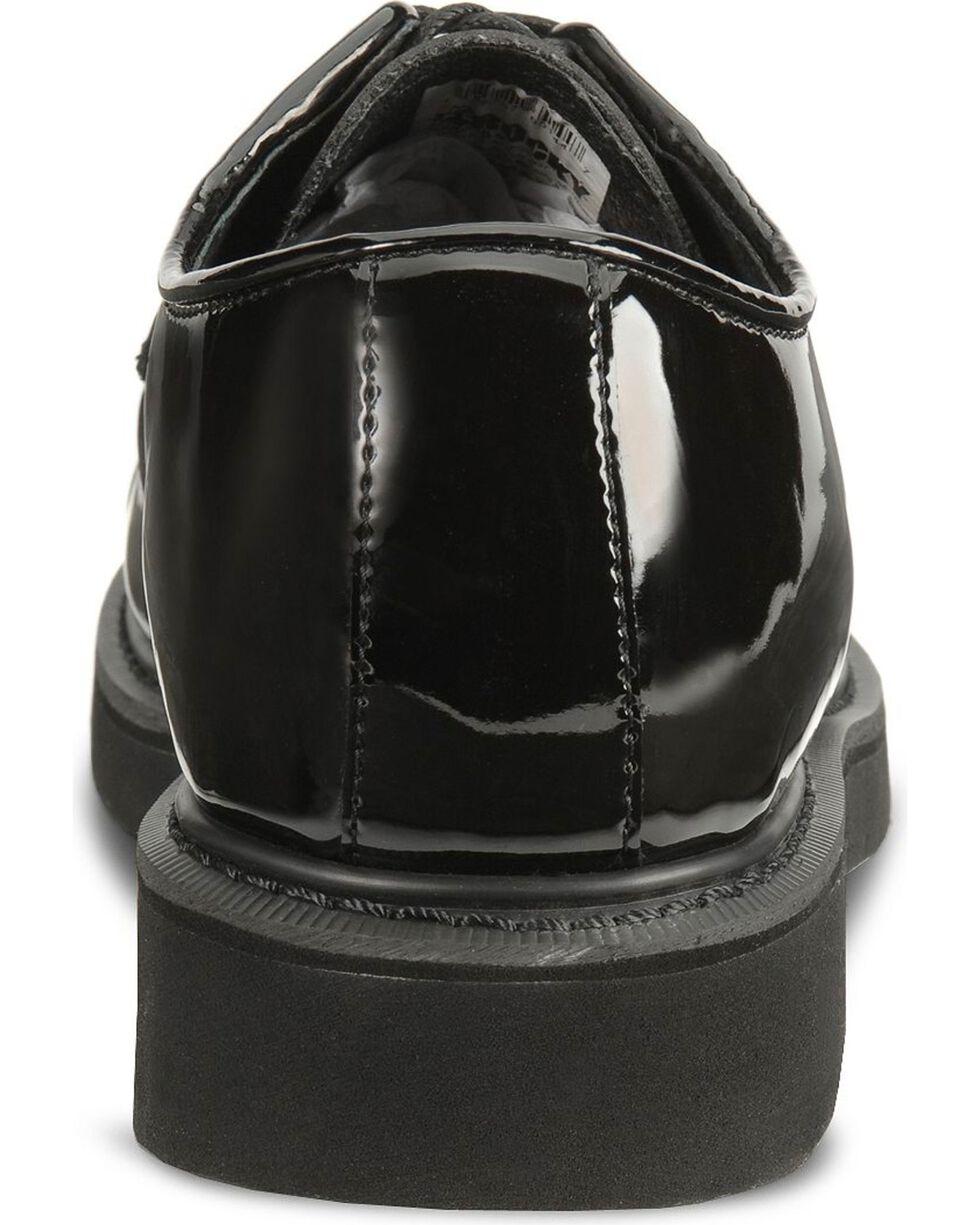 Rocky Men's High Gloss Dress Oxford Shoes, Black, hi-res