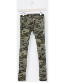 Miss Me Girls' Camo When Duty Calls Jeans - Skinny , , hi-res