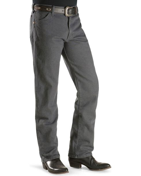Wrangler Jeans - 13MWZ Original Fit Prewashed Colors, Charcoal Grey, hi-res