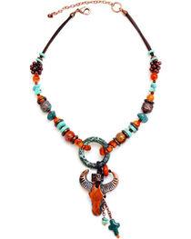 Treska Women's Santa Fe Beaded Pendant Necklace , , hi-res