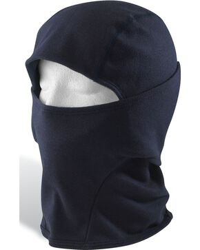 Carhartt Men's Flame-Resistant Double-Layer Force Balaclava, Navy, hi-res