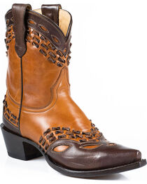 Stetson Women's Lexi Snip Toe Western Boots, , hi-res