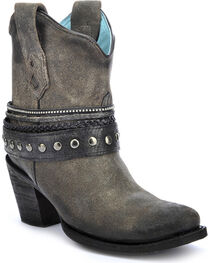 Corral Women's Studded Strap Western Booties, , hi-res