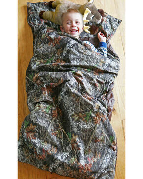 Carstens Home Camo Deer Pillow Slumber Bag, Camouflage, hi-res