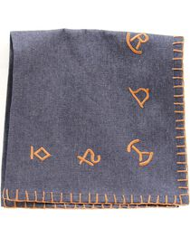 Western Moments Branded Denim Napkins - Set of 4, , hi-res