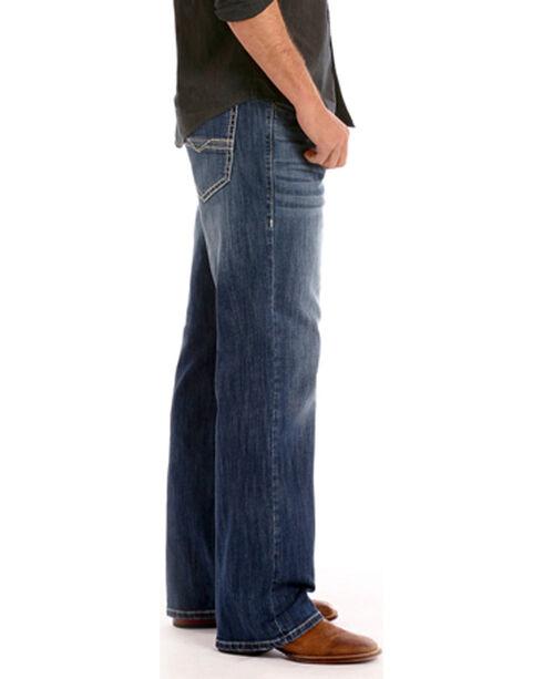 Rock & Roll Cowboy Men's Indigo ReFlex Cannon Jeans - Boot Cut , Indigo, hi-res