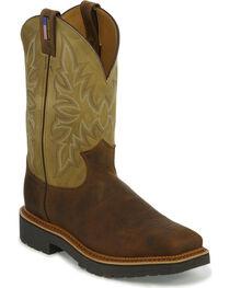 Justin Men's Scottsbluff Steel Toe Work Boots, , hi-res