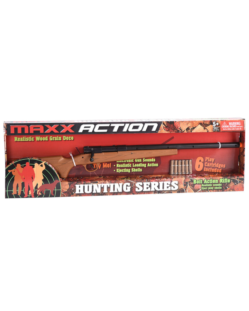 Maxx Action Bolt Action Rifle Toy , Brown, hi-res