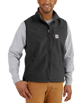 Carhartt Men's Denwood Vest - Big & Tall, Black, hi-res