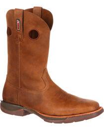 Rocky Men's Brown Roper Western Boots - Square Toe , , hi-res