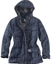 Carhartt Women's Gallatin Quilt Flannel Coat, , hi-res