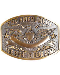 Cody James® 2nd Amendment  Belt Buckle, , hi-res