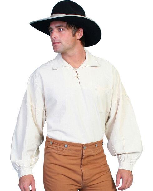 Rangewear by Scully Drop Shoulder Shirt, Natural, hi-res