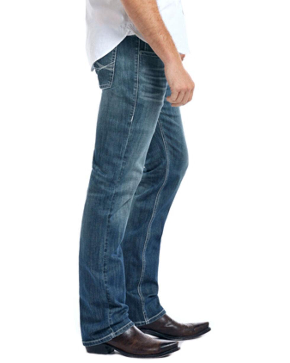 Rock & Roll Cowboy Men's Reflex Revolver Slim Straight Leg Jeans, Blue, hi-res