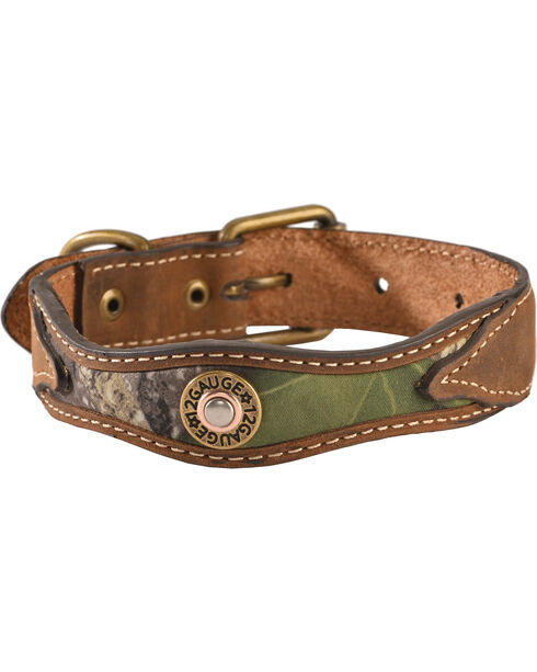 Scalloped Mossy Oak Dog Collar - XS-XL, Camouflage, hi-res