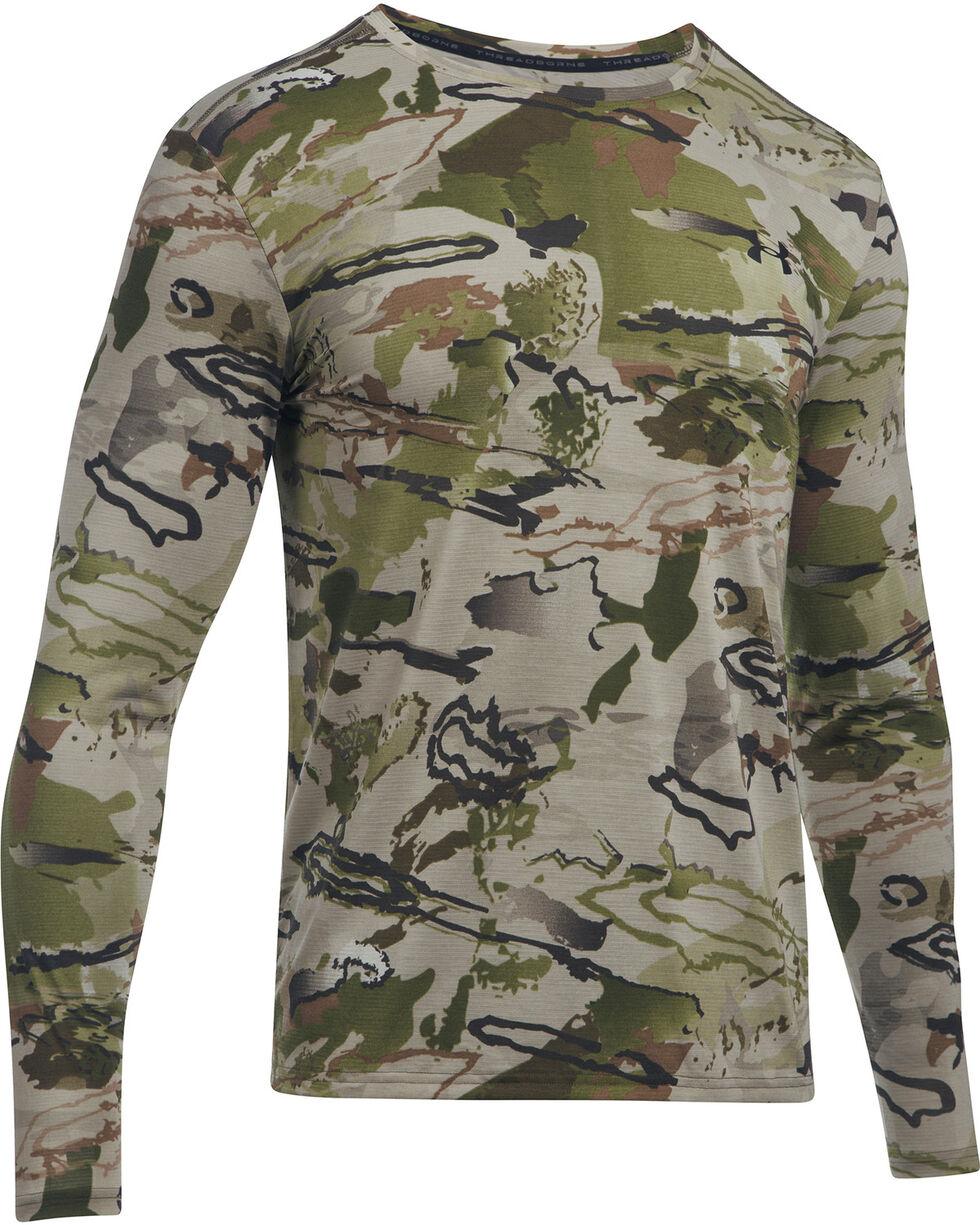 Under Armour Men's Camo Early Season Long Sleeve Tee , Camouflage, hi-res