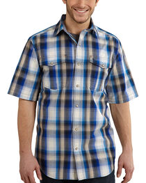 Carhartt Bozeman Short Sleeve Plaid Work Shirt, , hi-res