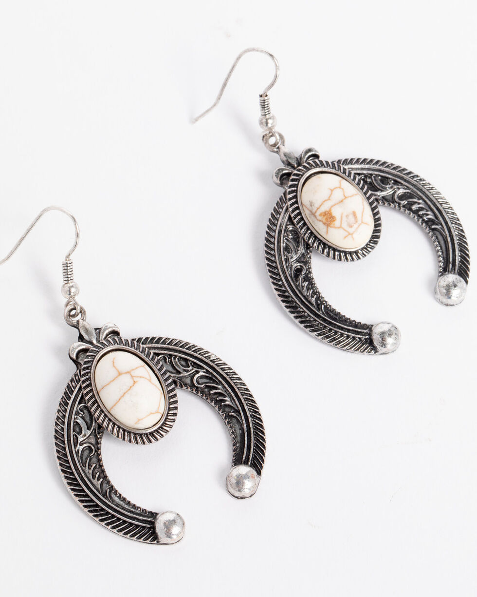 Shyanne® Women's Filigree & Twisted Rope Earrings, Silver, hi-res