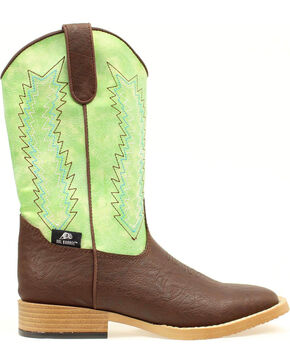 Double Barrel Boys' Wyatt Boots , Brown, hi-res