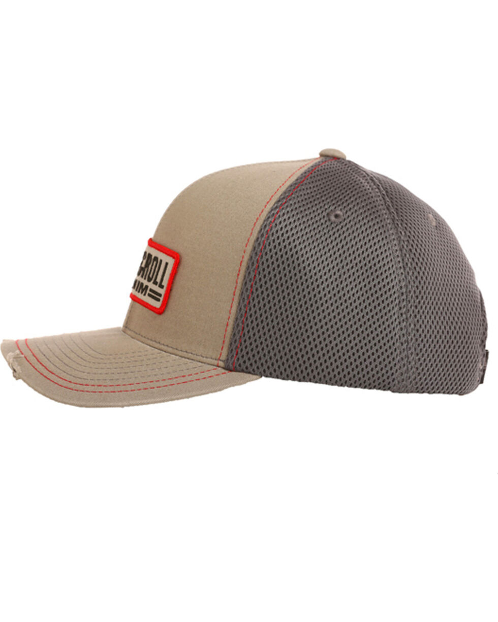 Rock & Roll Cowboy Men's Patch Logo Cap, Charcoal, hi-res