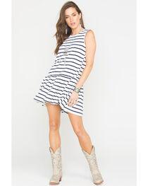Polagram Women's Striped Mini Dress , , hi-res