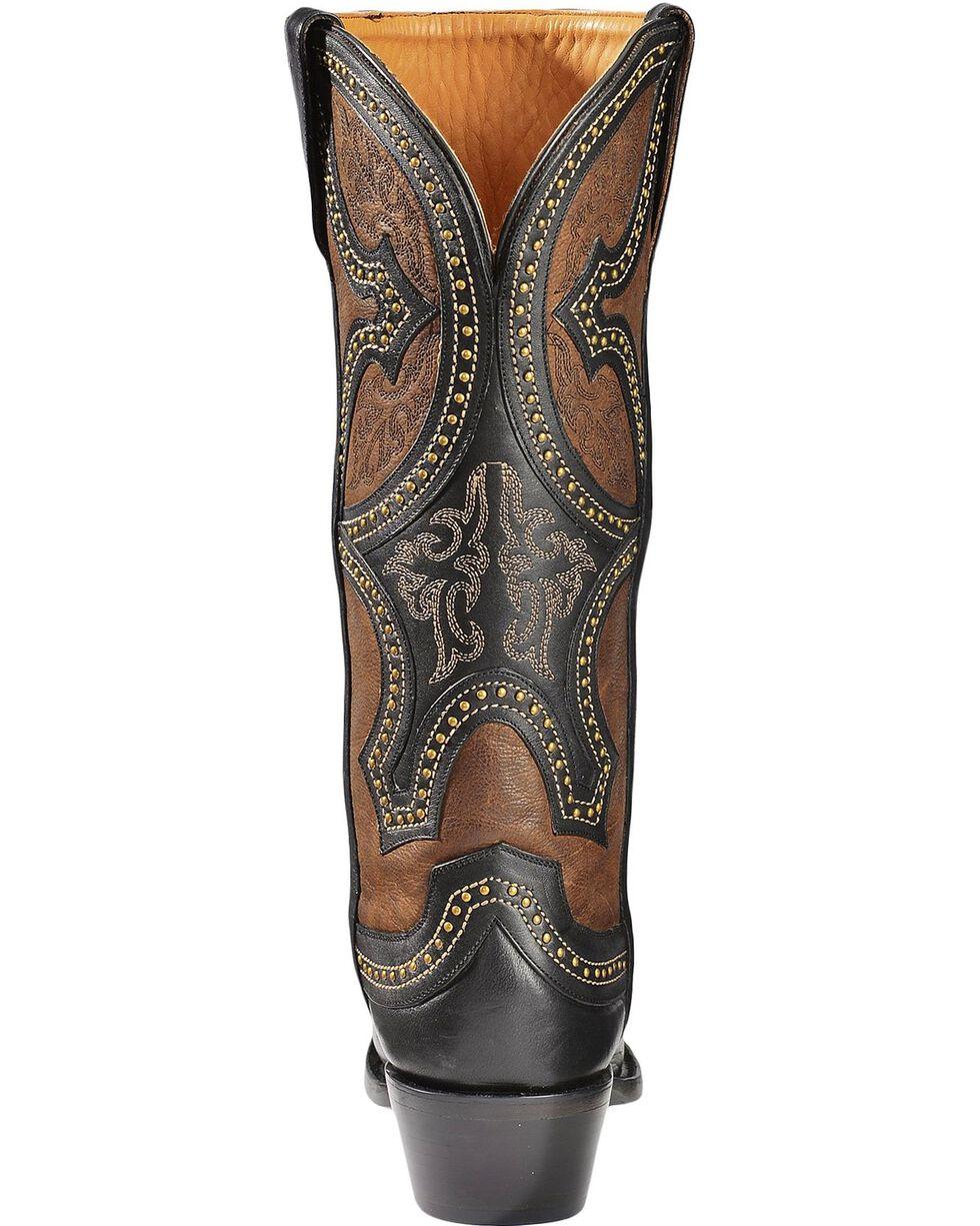 Lucchese Women's Leila Renaissance Mosaic Western Boots, Black, hi-res