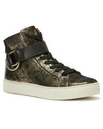Frye Women's Gunmetal Lena Harness High Shoes , , hi-res