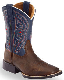 "Ariat Youth Quick Draw 8"" Western Boots, , hi-res"