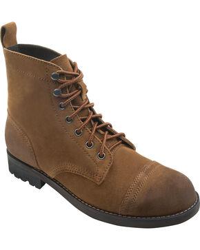 Eastland Men's Nutmeg Suede Jayce Cap Toe Boots, Brown, hi-res
