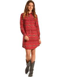 Ryan Michael Women's Beacon Blanket Shirt Dress , , hi-res