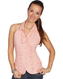 Scully Halter Tie Sleeveless Top, , hi-res