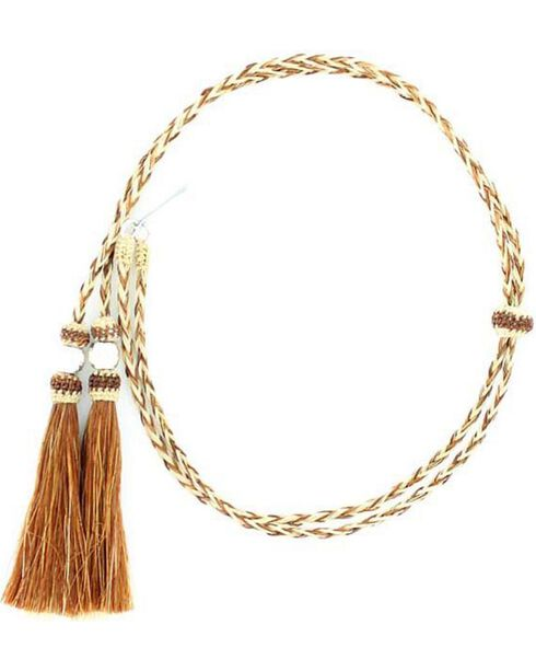 M&F Braided Horse Hair Stampede String, Assorted, hi-res