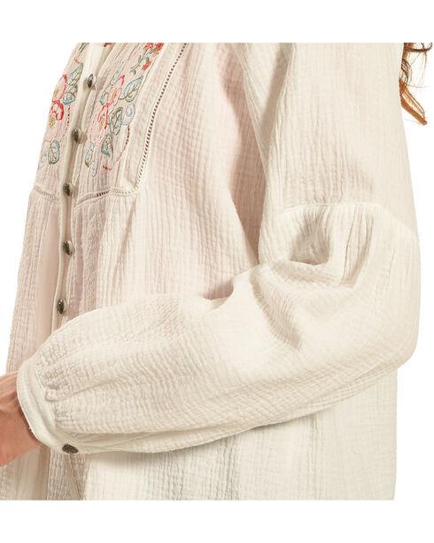 Tasha Polizzi Women's Ivory Dillon Shirt, Ivory, hi-res