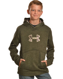 Under Armour Boys' Storm Icon Caliber Hoodie, , hi-res