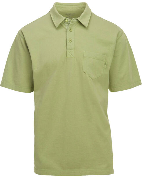Woolrich Men's First Forks 1 Pocket Polo , Green, hi-res