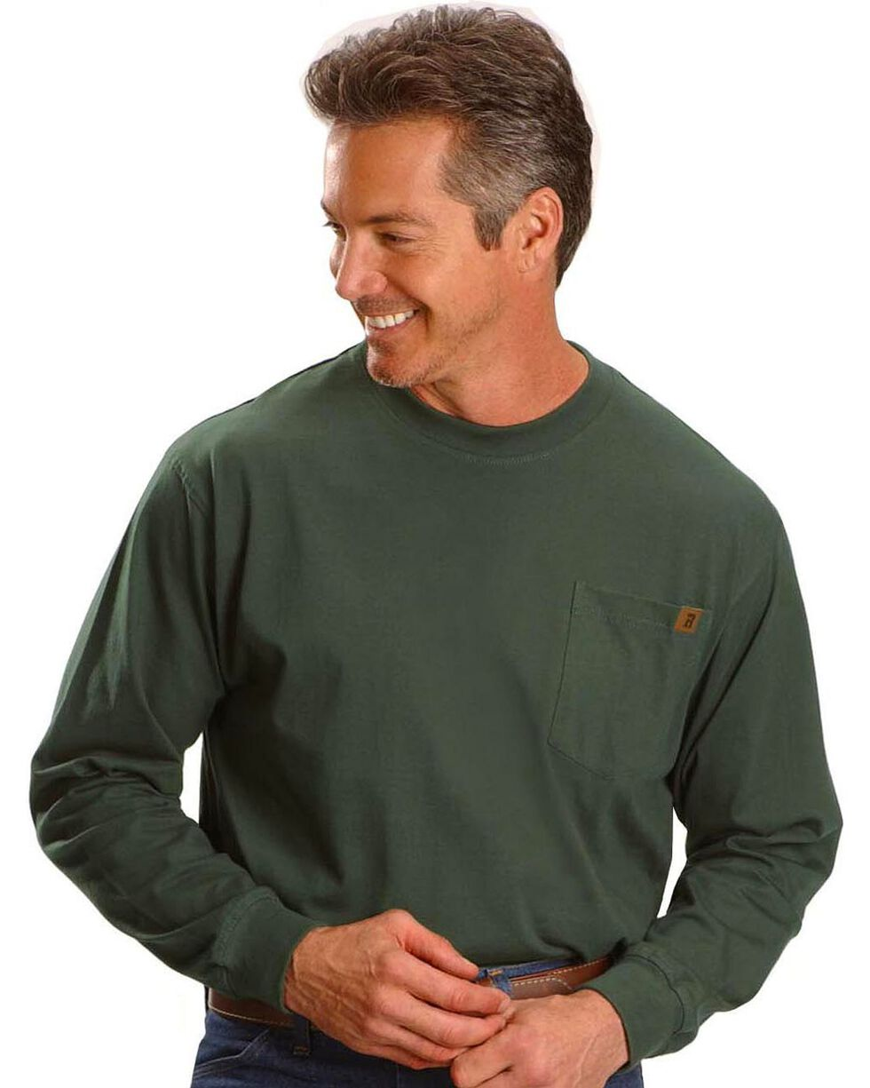 Wrangler Riggs Workwear Pocket Tee, Forest Green, hi-res