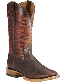 Ariat Men's High Country Square Toe Western Boots, , hi-res