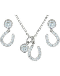 Montana Silversmiths Luck by Starlight Jewelry Set, , hi-res